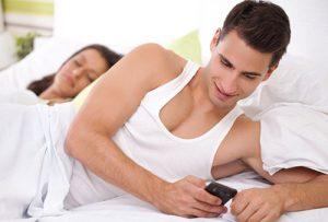 муж и телефон