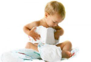 ребенок и подгузники