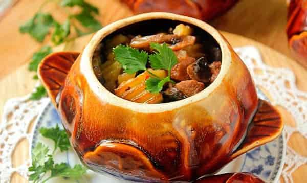 кабачки-с-грибами-в-духовке