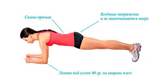 упражнение-планка