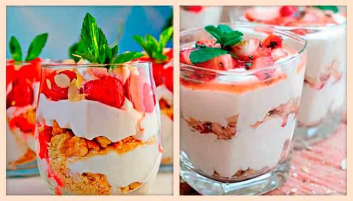 десерт-с-клубникой