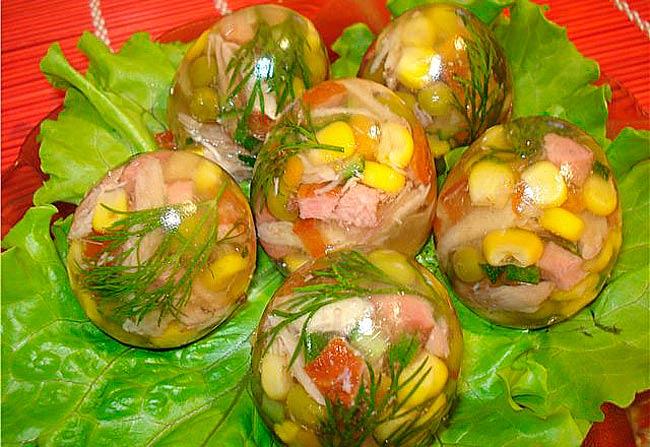 заливные-яйца