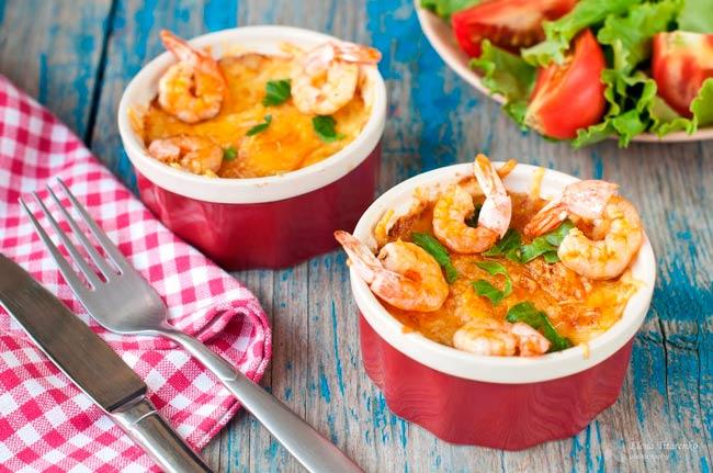 жульен-с-морепродуктами