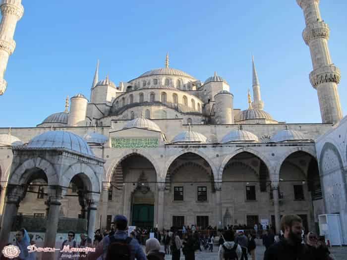 Голубая-мечеть