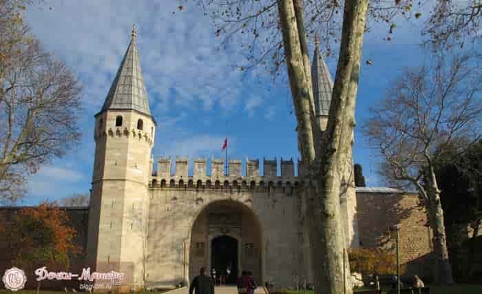 дворец-топкапы-вход