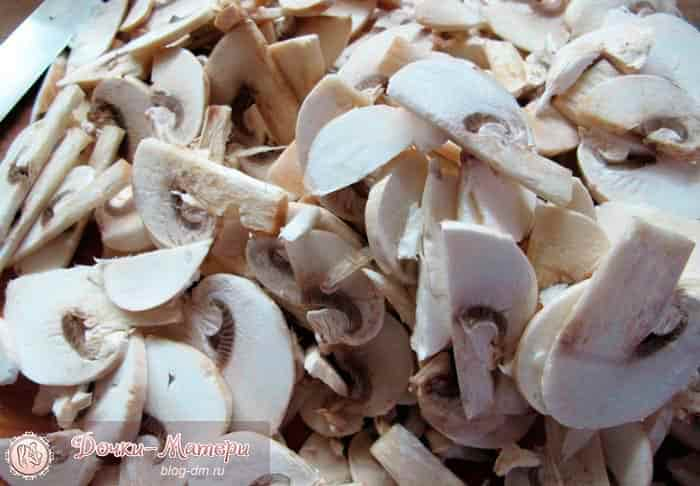 жульен-грибы