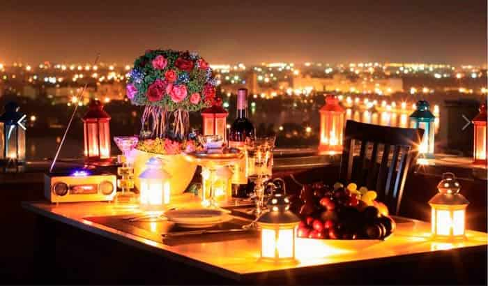 романтический-ужин-на-крыше