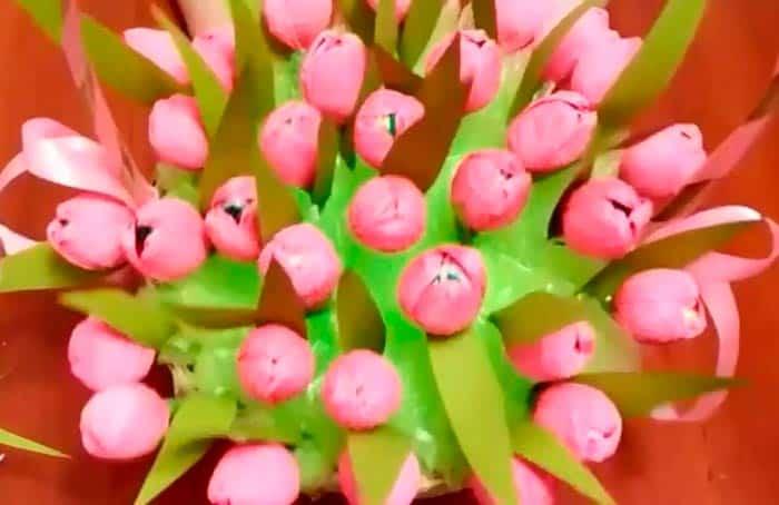 тюльпаны-в-корзине