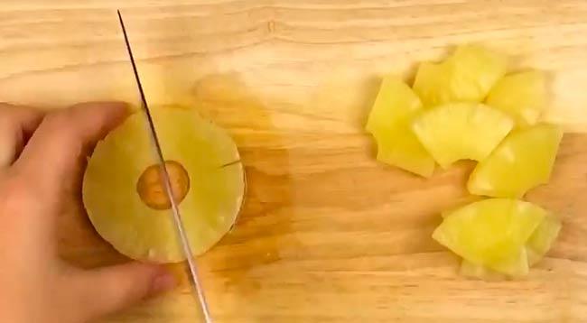 нарезаем-ананас