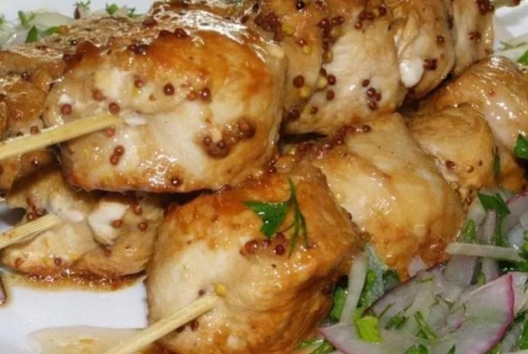 сочный шашлык из курицы