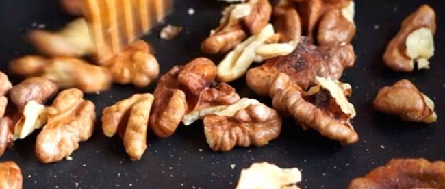 подсушиваем-орехи