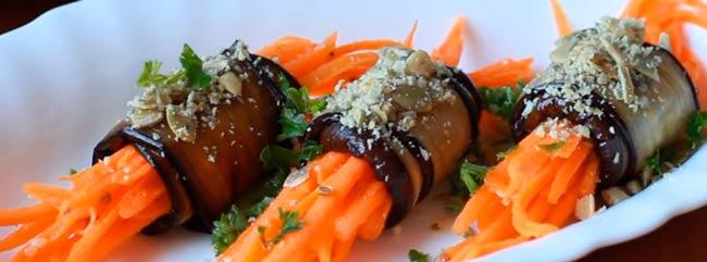 рулеты-с-корейской-морковкой