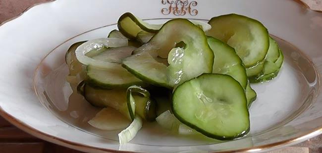 салат-из-огурцов