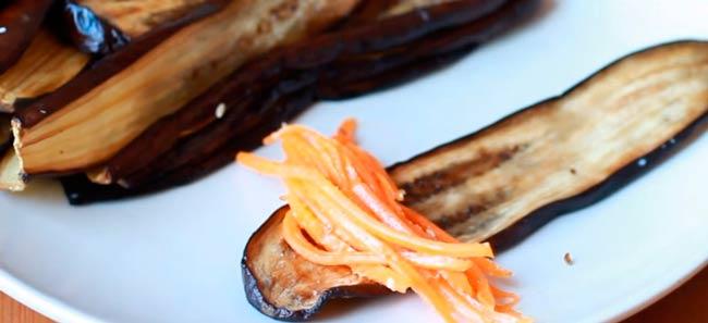 заворачиваем-морковь-в-баклажан