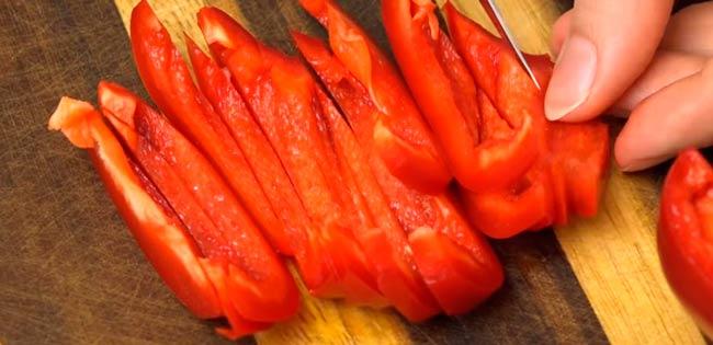 нарезаем-перец