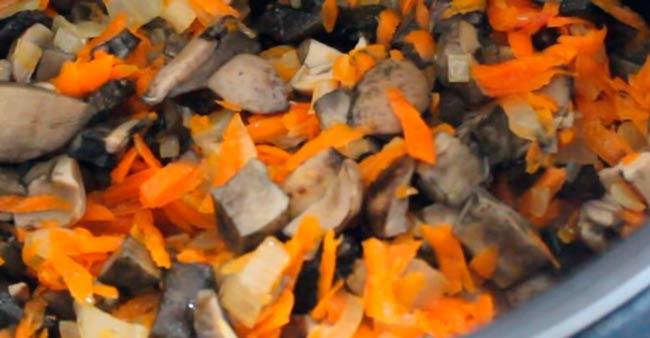 овощи-с-грибами