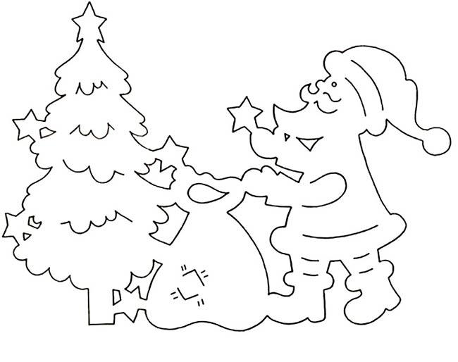 Дед-Мороз-и-елка