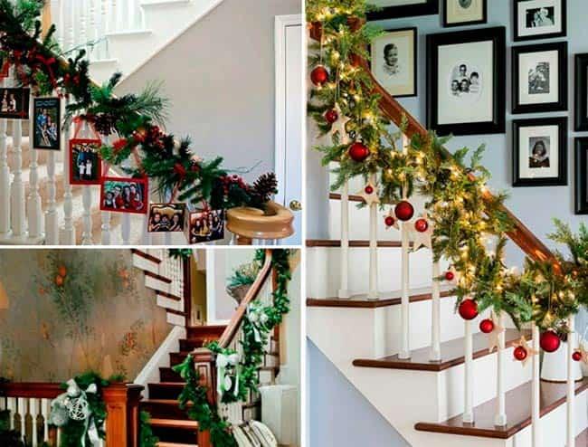 еловые-гирлянды-на-лестницы