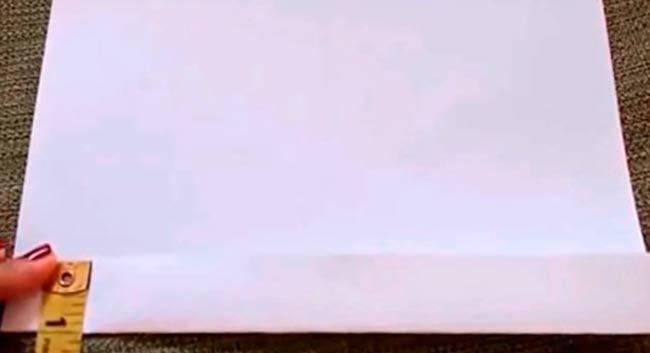 лист-загибаем-полосочкой