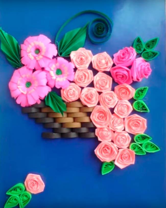 открытка-розы-из-квиллинга