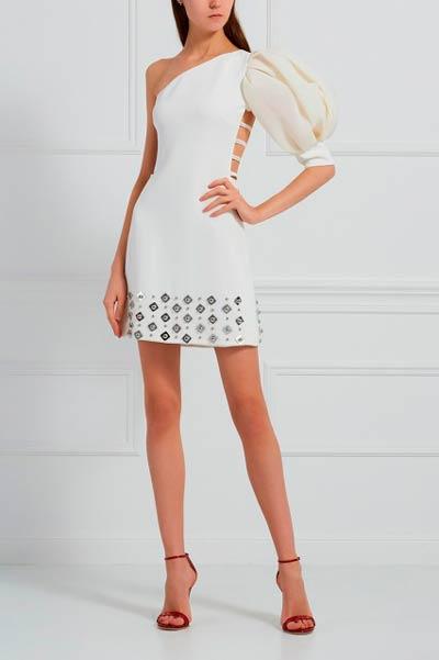 платье-ассиметричное