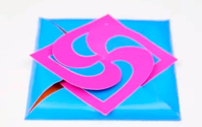 ромбы-открытки