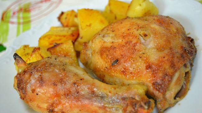 курица-с-картошкой