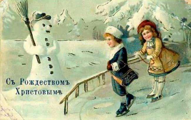 дети-на-открытке
