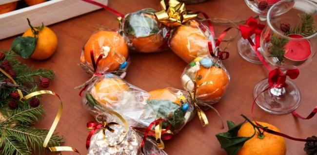 мандариновый-венок