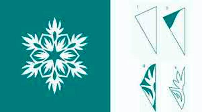 образец-снежинки