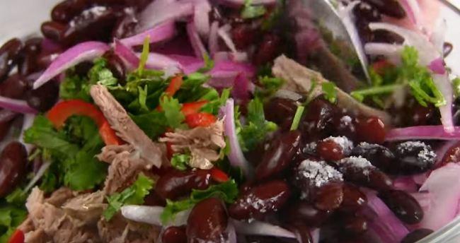 салат-с-фасолью-и-говядиной