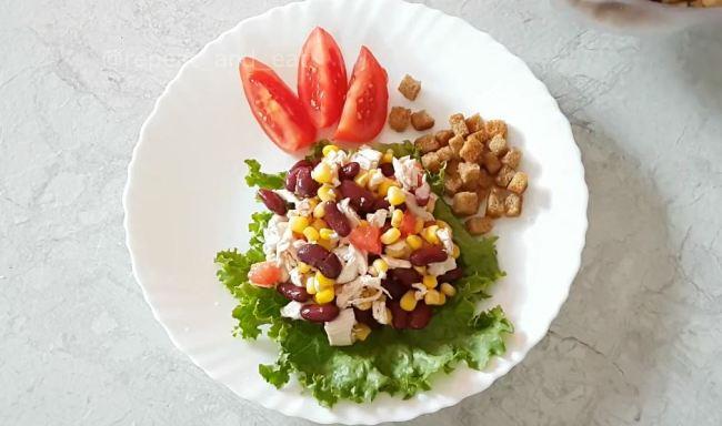салат-с-фасолью