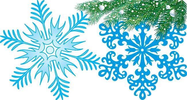 снежинки-на-елку