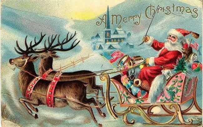 старинная-открытка-с-рождеством