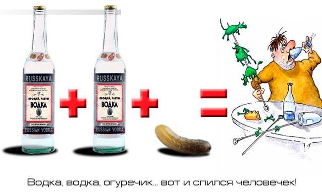 водка-водка-человечек