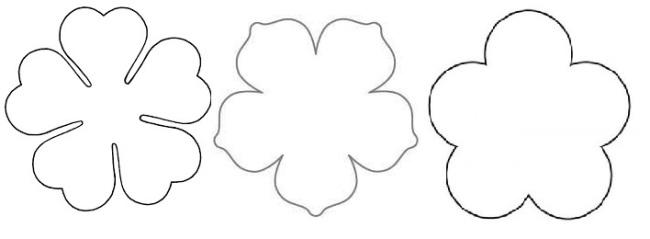 шаблоны-цветков