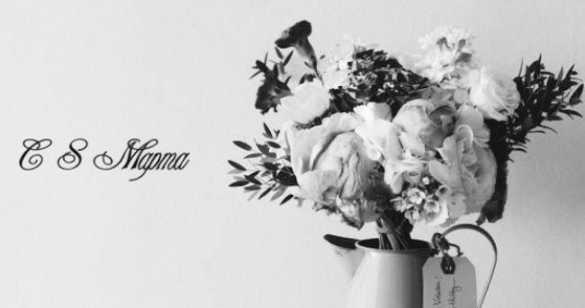 черно-белые-открытки-8-марта