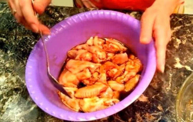 курицу-маринуем
