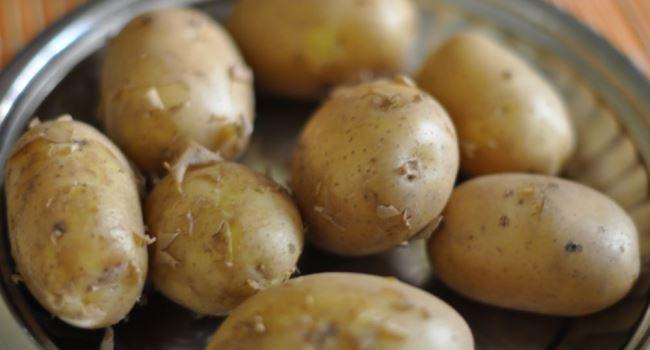 картошку-отварить