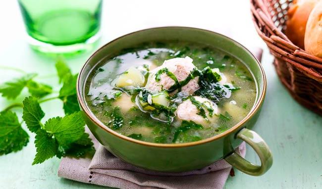 крапивный-суп
