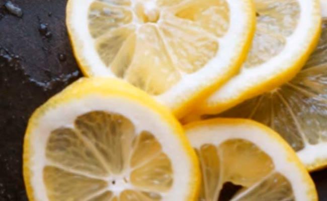 лимоны-кольцами