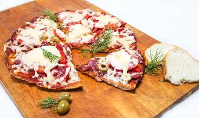 пицца-на-батоне