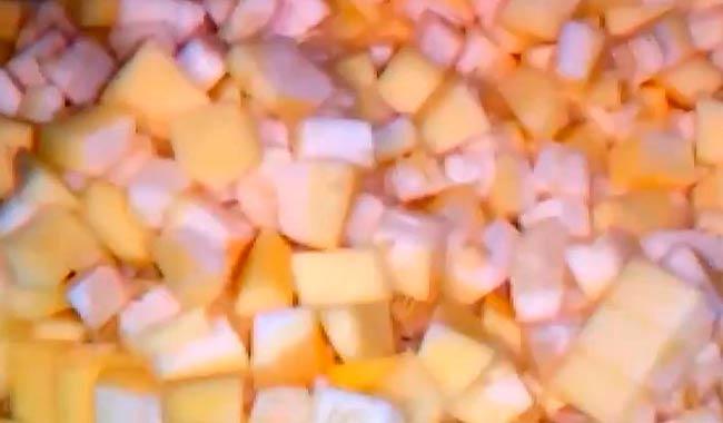 кабачки-кубиками