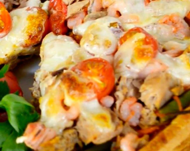 пицца-с-овощами-и-морепродуктами