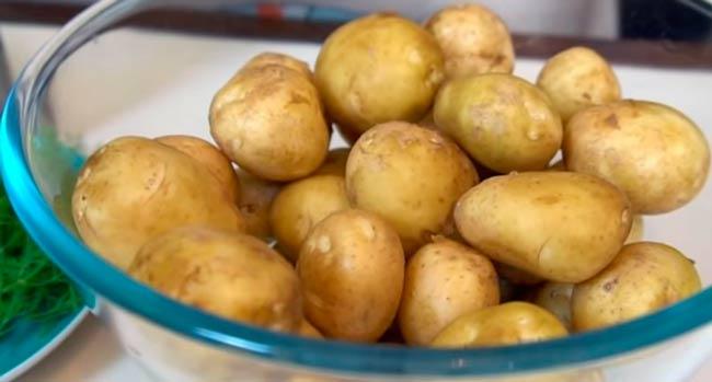 промыть-картофель