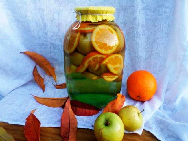 компот-из-яблок-с-апельсинами