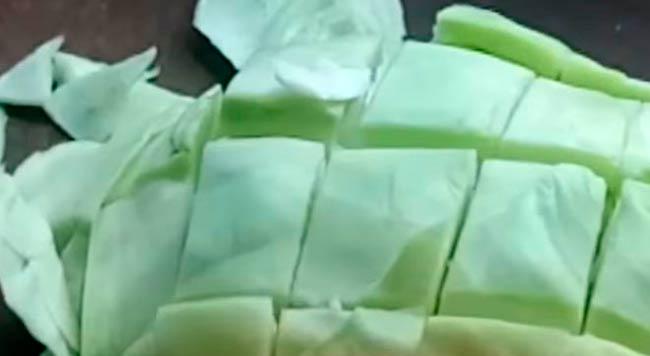 нарезать-капусту-кусочками