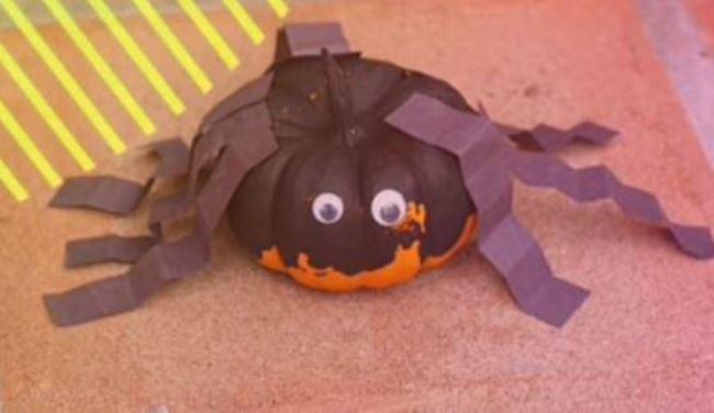 паук-из-тыквы