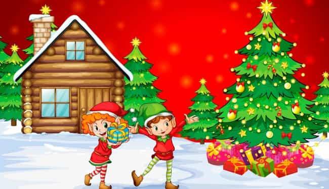 новогодний-сценарий-елка-в-лесу