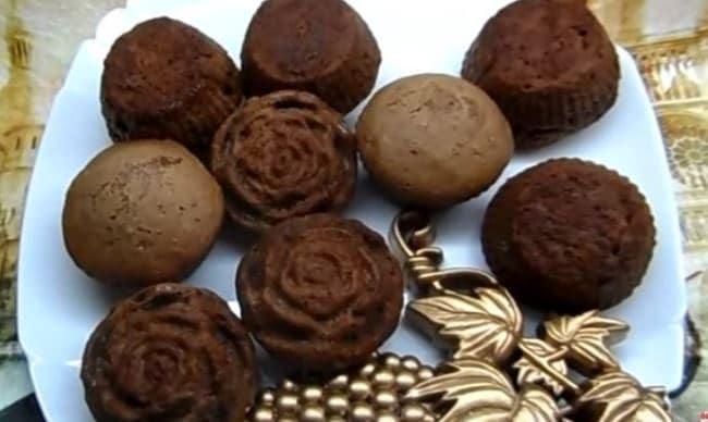 шоколадные-маффины